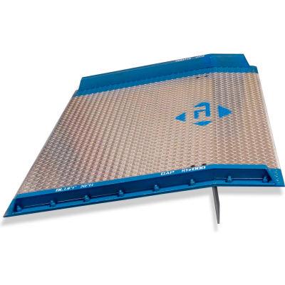 Bluff® AC6072 Aluminum Dock Board with Steel Curbs 60 x 72 10,000 Lb. Cap.