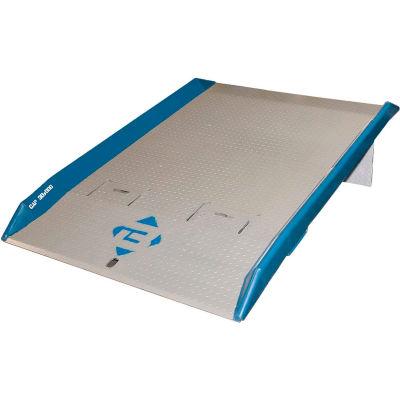 Bluff® 15TFL6060 Steel Dock Board with Steel Curbs 60 x 60 15,000 Lb. Cap.