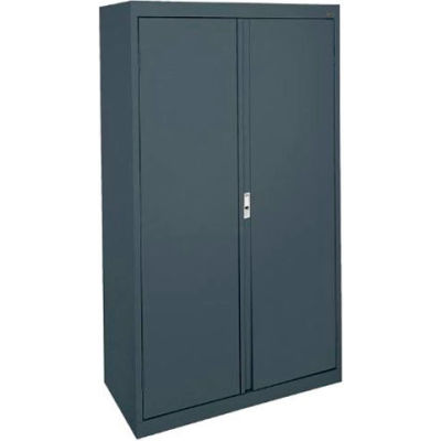 Sandusky System Series Storage Cabinet HA3F301864 Double Door - 30x18x64, Charcoal