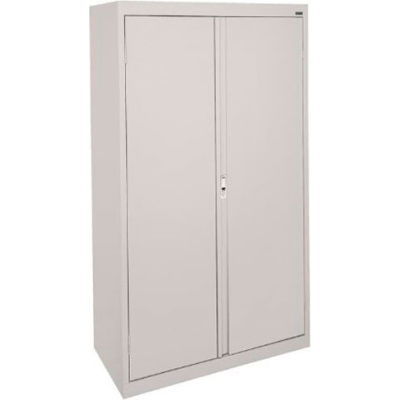 Sandusky System Series Storage Cabinet HA3F301864 Double Door - 30x18x64, Gray