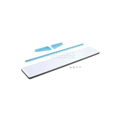 "60""L X 12""D Plastic Laminate Cantilever Shelf - Blue for Pro-Line Workbench"