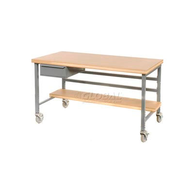 "Drawer for Built-Rite Workbenches -15""W x 20""D x 6""H Gray"