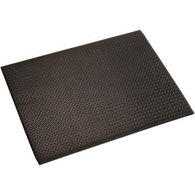 "Diamond Plate Mat, 1/2"" Thick 24""x36"", Black"