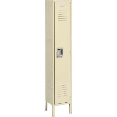 Infinity™ Locker Single Tier 12x12x60 1 Door Ready To Assemble Tan