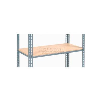 "Additional Shelf Level Boltless Wood Deck 48""W x 12""D - Gray"