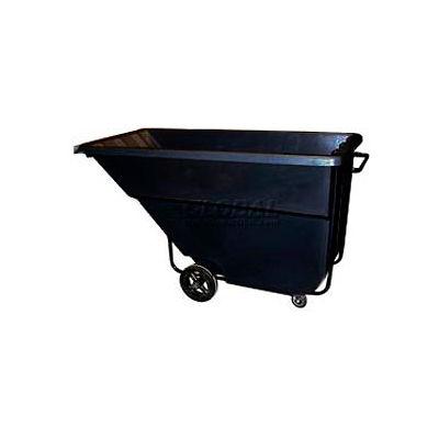 Bayhead Products Black Medium Duty 1.1 Cubic Yard Tilt Truck 1200 Lb. Capacity