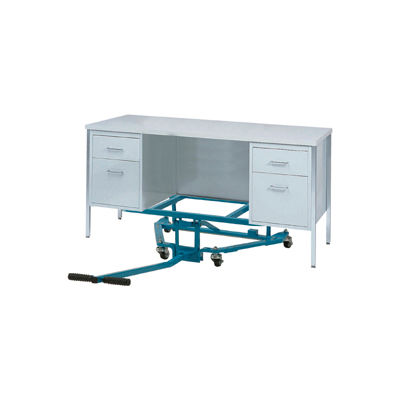 Global Industrial™ Easy Lift Desk Mover 600 Lb. Capacity