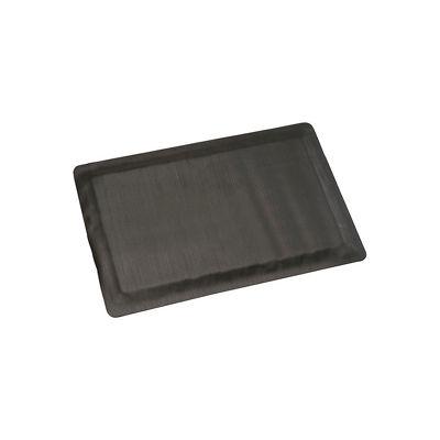 "Apache Mills Invigorator™ Corrugated Safety Mat 1/2"" Thick 3' x Up to 75' Black"