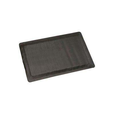 "Apache Mills Invigorator™ Corrugated Safety Mat 1/2"" Thick 3' x 60' Black"