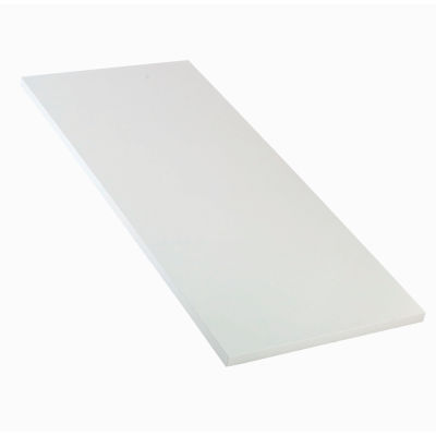 """60""""W x 30""""D x 1-1/4"""" Thick ESD Square Edge Workbench Top - White"""
