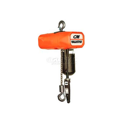 CM Valuestar Electric Chain Hoist with Chain Container - 4,000 lb. Capacity
