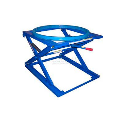 Pallet & Skid Carousel Turntable Rotating Ring with Stand PS-4045/CA - 4000 Lb. Cap.