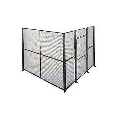 Husky Rack & Wire EZ Wire Mesh Partition Component Panel 4'Wx8'H