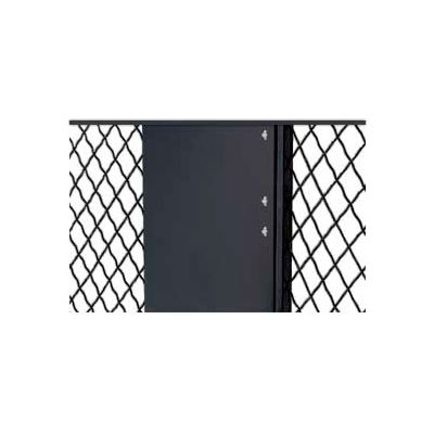 Husky Rack & Wire EZ Wire Mesh Partition Fill-A-Gap Panel 8 Foot High