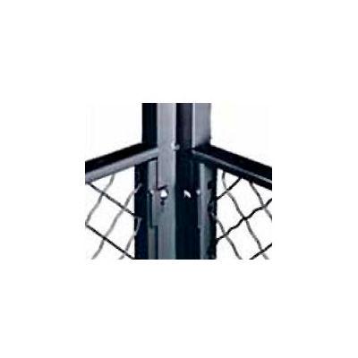 Husky Rack & Wire EZ Wire Mesh Partition Corner Post 8' High
