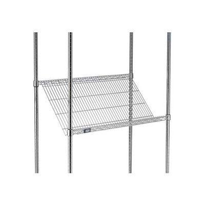 """Nexel® SS2436C Chrome Slant Wire Shelf 36""""W x 24""""D"""