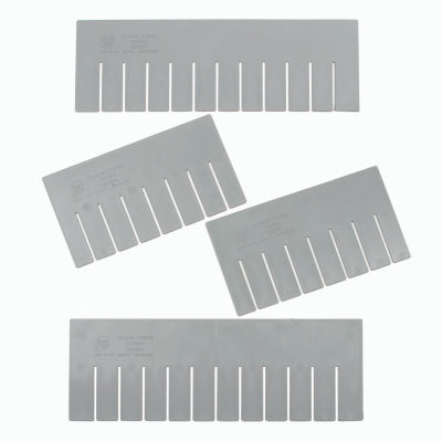 Global Industrial™ Width Divider DS92080 for Plastic Dividable Grid Container DG92080, Qty 6