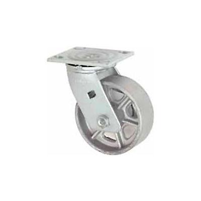 "Faultless Swivel Plate Caster 1406-4 4"" Steel Wheel"