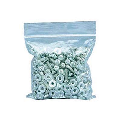 "Zipper-Lock Poly Bags 3"" x 3"" 2 Mil 1,000 Pack"