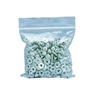 """Reclosable Clear Poly Bags 4"""" W x 4"""" L , 2 Mil 1000 Case"""