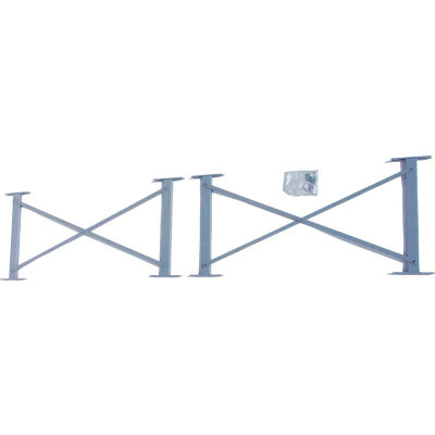 """Global Industrial™ 48"""" Cantilever Brace For 16' Uprights, 3000-5000 Series, 4/Pack"""
