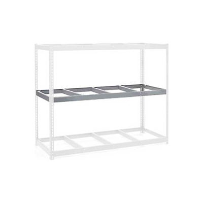 """Global Industrial™ Additional Level For Wide Span Rack 72""""W x 48""""D No Deck 900 Lb Capacity, Gry"""