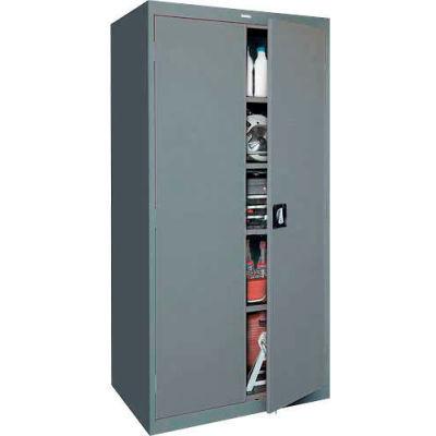 Sandusky Elite Series Storage Cabinet EA4R361878 - 36x18x78, Charcoal