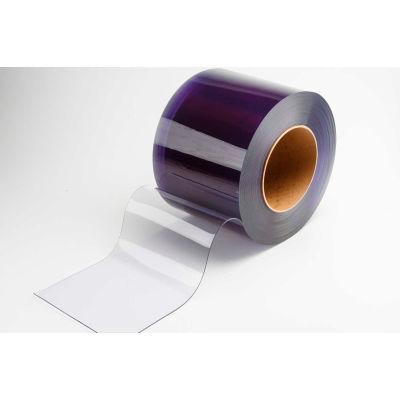 "TMI PVC Strip Curtain Door Bulk Roll - Smooth Low Temperature USDA - 8"" x 105' x .080"""