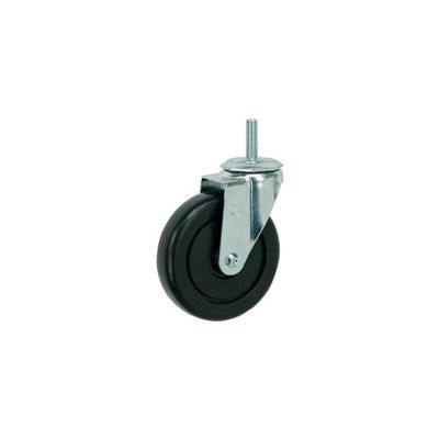 "Faultless Swivel Threaded Stem Caster G460S-4 4"" Polyolefin Wheel"