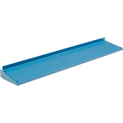 """Global Industrial™ Cantilever Steel Shelf For Bench Uprights - 60""""W x 12""""D - Blue"""