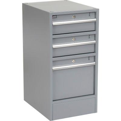 Premium 3 Drawer Workbench Pedestal W/Built-In Base