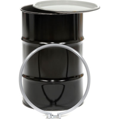 drum barrel drums barrels pails skolnik cq5506 55 gallon open head carbon steel drum. Black Bedroom Furniture Sets. Home Design Ideas