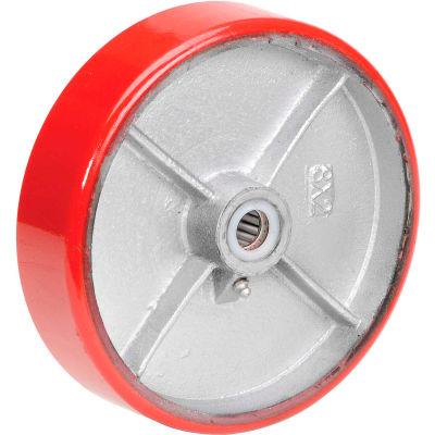 """8"""" x 2"""" Polyurethane Wheel - Axle Size 3/4"""""""