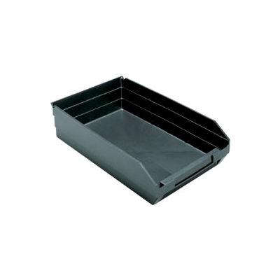 """Recycled Nesting Storage Shelf Bin QSB110BR 11-1/8""""W x 17-7/8""""D x 4""""H - Pkg Qty 8"""