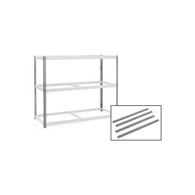 5' High Gray Angle Post Set of 4