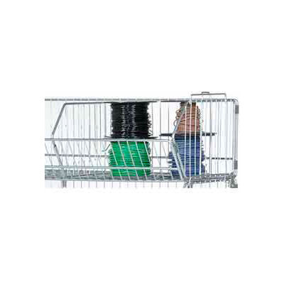 "Global Industrial™ Stackable Wire Storage Bin, 36""W x 20""D x 12""H"