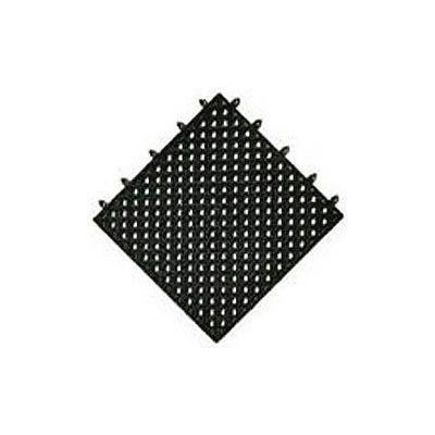 "NoTrax® Modular Lok-Tyle™ Drainage Mat Interlocking Tile 12"" x 12"" Black"