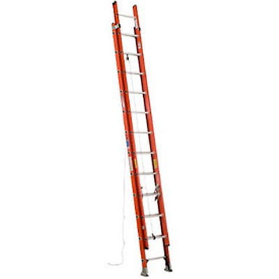 Werner 24' Fiberglass Extension Ladder 300 lb. Cap - D6224-2