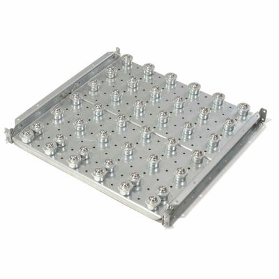 """Omni Metalcraft Ball Transfer Table with 3"""" Centers 1120 Lb. Capacity BTRD3.5-24-3-2-.25"""