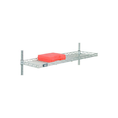 "Nexel® CS1236C Chrome Cantilever Shelf 36""W x 12""D"
