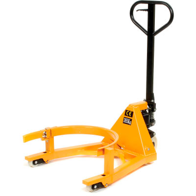 Global Industrial™ Portable Hydraulic Drum Lifting Jack 800 Lb. Capacity