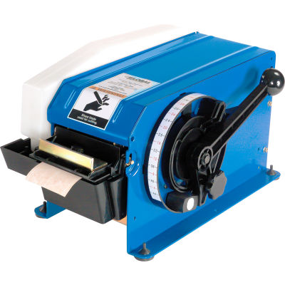 "Global Industrial® Manual Gummed Kraft Paper Tape Disp. for 8/10""-4""W Tape w/Free Case of Tape"