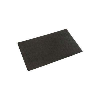 """Pebble Surface Mat, 5/8""""Thick 48""""W Cut Length 1Ft Up To 30Ft, Black"""