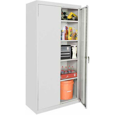 Sandusky Classic Series Storage Cabinet CA41361872 - 36x18x72, Gray