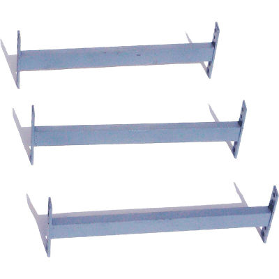 """Cantilever Rack Horizontal Brace Set (2000 Series), 45"""" W, For 10', 12', 14' H Uprights"""