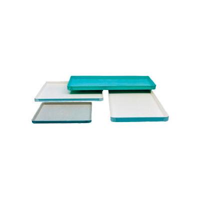 "Molded Fiberglass Toteline Conveyor/Assembly Tray 332008-26""Lx18""Wx1-1/8""H, Green - Pkg Qty 12"