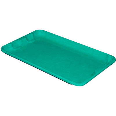 "Molded Fiberglass Toteline Nest and Stack Lid 780218 -17-7/8"" x10""- 5/8"",Green - Pkg Qty 12"