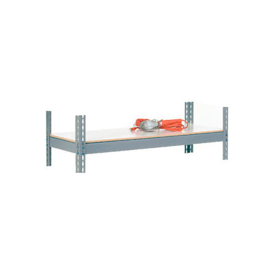 "Global Industrial™ Extra Heavy Duty Laminated Shelf 48""W x 12""D - Gray"