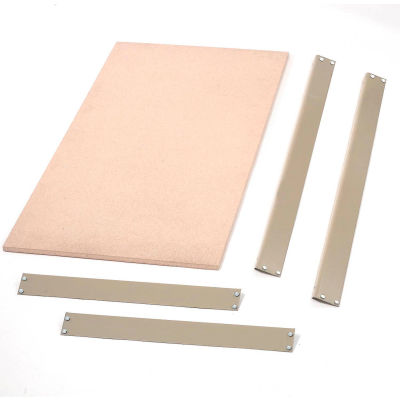 "Global Industrial™ Bulk Rack Shelf Wood Deck 60""W x 24""D - Gray"