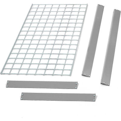 "Global Industrial™ Bulk Rack Shelf Wire Deck 60""W x 48""D - Gray"